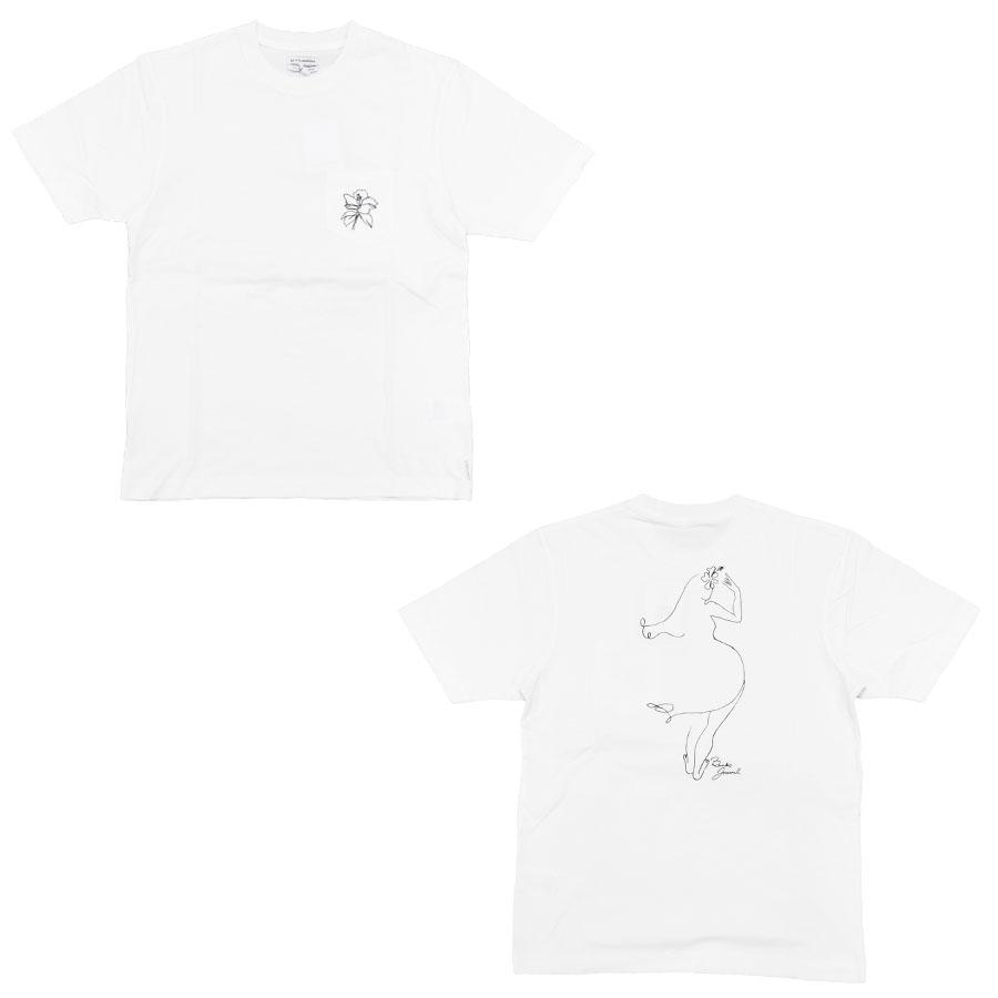 BANKS バンクス メンズ レディース ユニセックス 半袖Tシャツ ポケット カットソー オーガニックコットン FORM TEE 白 ホワイト ブラック 黒