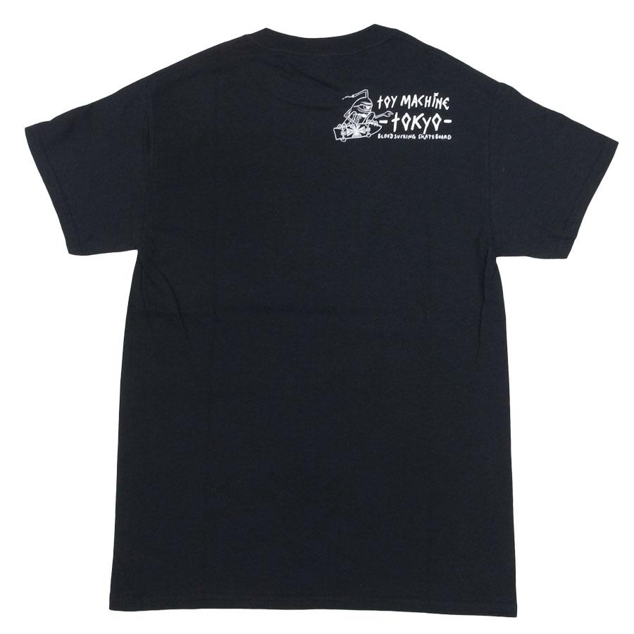 TOY MACHINE トイマシーン メンズ レディース ユニセックス Tシャツ カットソー ホワイト 白 ブラック 黒 UKIYOE SECR TOKYO