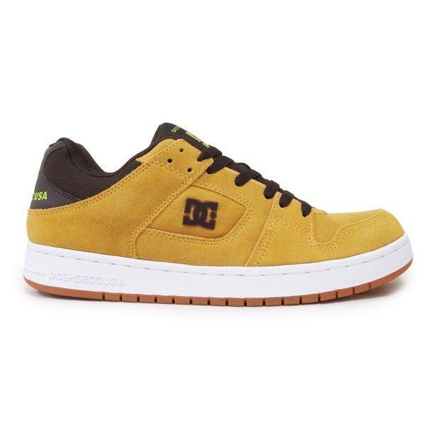 DC SHOE シューズ スニーカー スケート 靴 MANTECA BROWN ブラウン 茶色