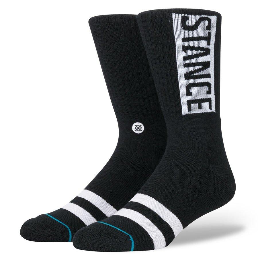 STANCE SOCKS MENS 靴下 スタンスソックス メンズ スケート OG SOCKS BLACK ブラック 黒