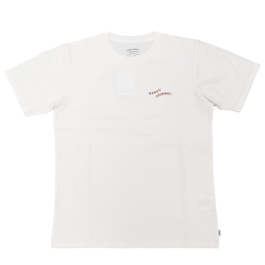 BANKS バンクス メンズ レディース ユニセックス 半袖Tシャツ カットソー オーガニックコットン SEASHORE TEE