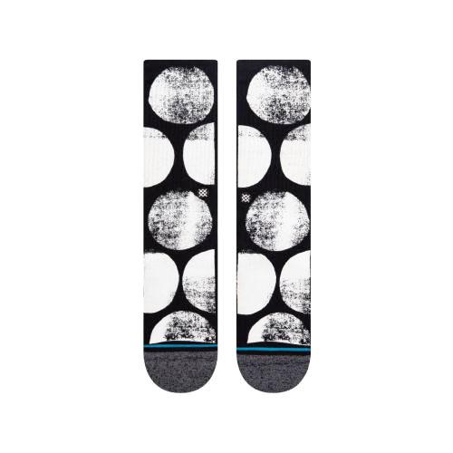 STANCE SOCKS MENS 靴下 スタンス ハイソックス メンズ スケート STAMP DOT SOCKS ブラック 黒 ホワイト 白 水玉