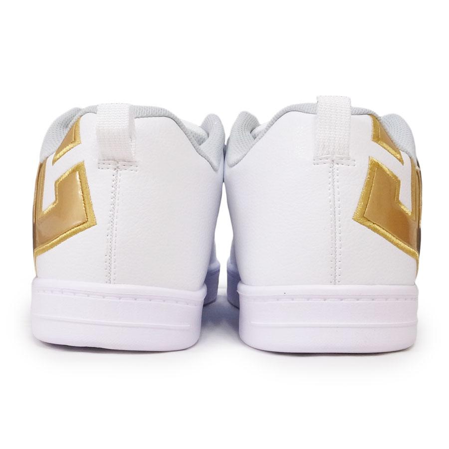 DC SHOE シューズ スニーカー スケート 靴 COURT GRAFFIK LITE WHITE GOLD ホワイト 白