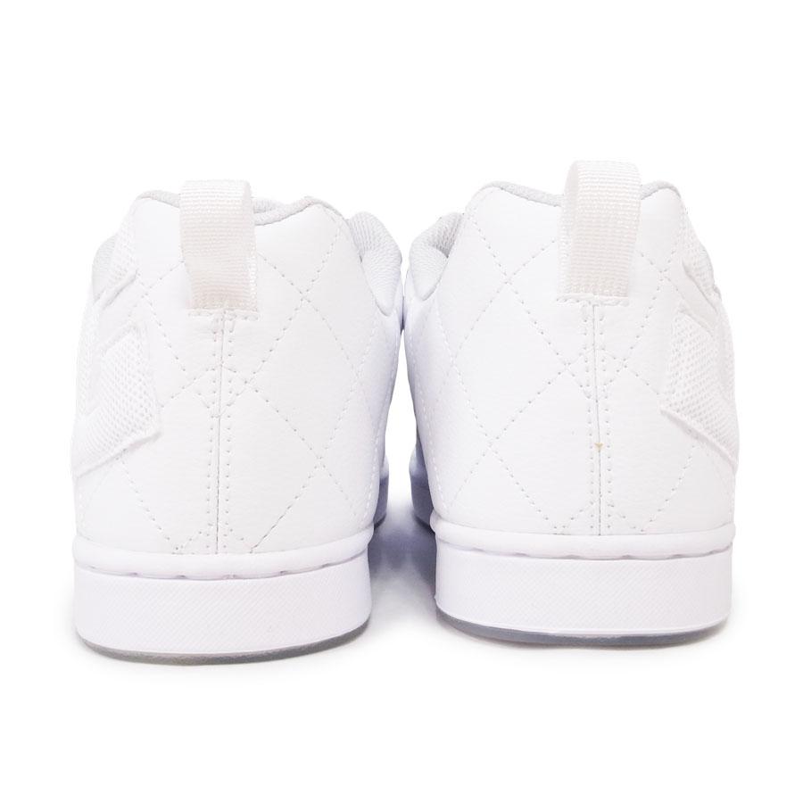 DC SHOE シューズ スニーカー スケート 靴 ALLIANCE SE SN WHT WHT ホワイト 白
