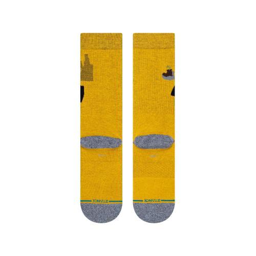 STANCE SOCKS スタンス ハイソックス ピクサー ディズニー ウォリー WALL E メンズ レディース キッズ 子供 イエロー 黄色 コラボ