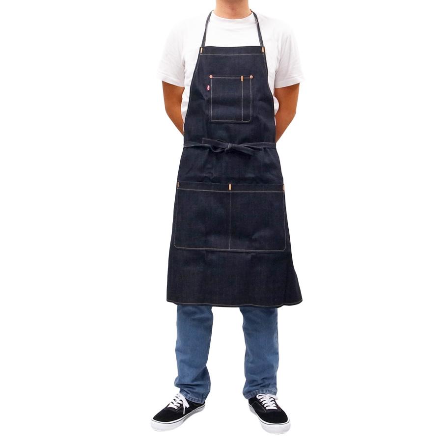 LEVI'S リーバイス エプロン 料理 DIY メンズ レディース ユニセックス DENIM APRON ブルー 青 デニム