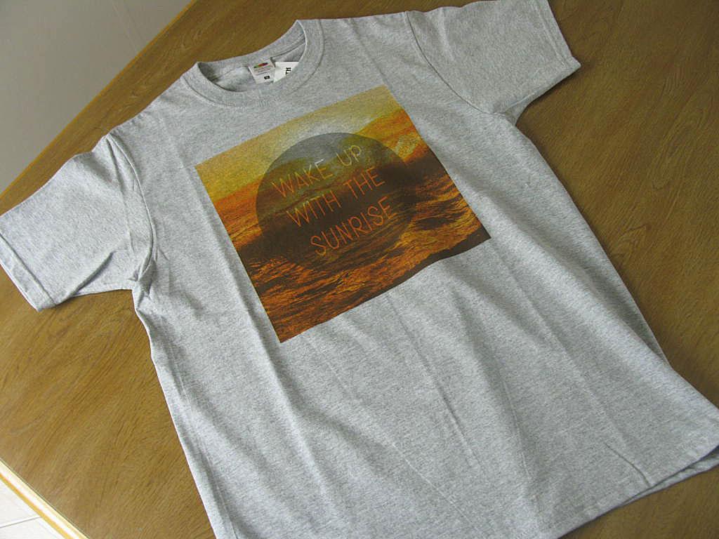 メンズ 半袖 Tシャツ グレー FRUIT OFTHE LOOM 9043   M