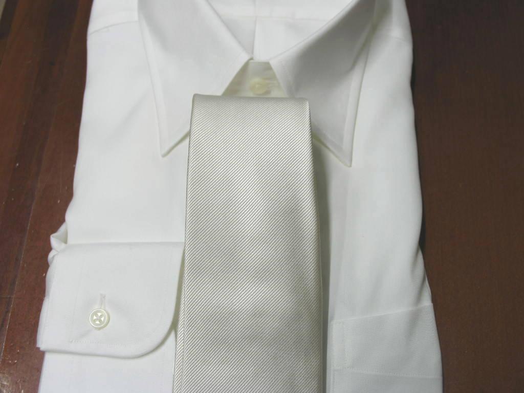 礼装用 ネクタイ 慶事用 シルク100% FT16