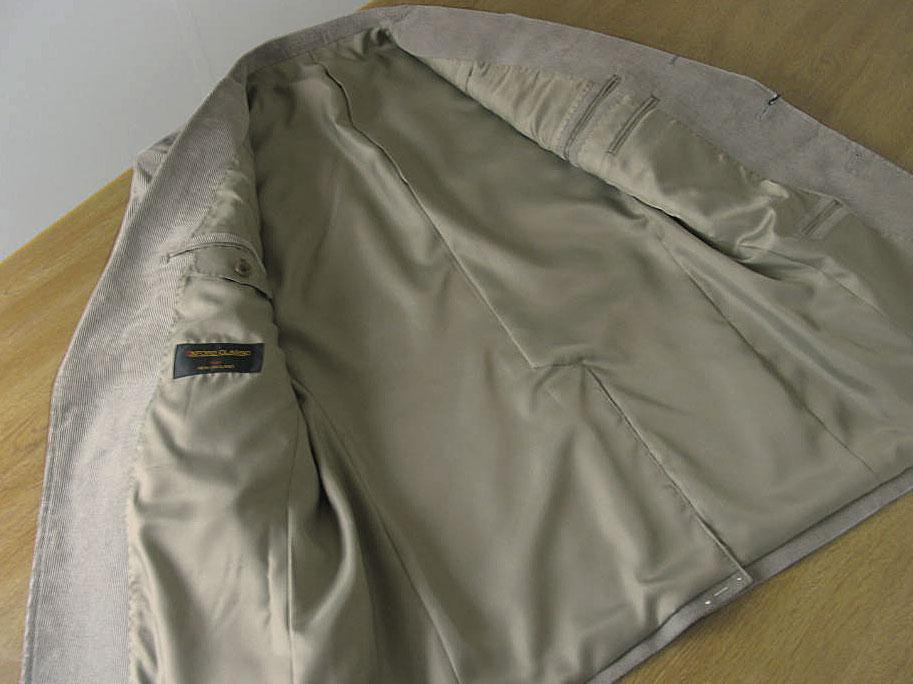 OXFORD CLASSIC(オックスフォードクラシック) コーデュロイジャケット メンズ 秋冬 ミディアムグレー 0015 A5 A6 AB6 AB7 BB5