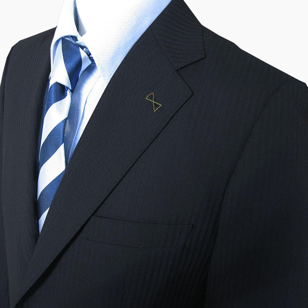 MIYUKI(ミユキ) スーツ メンズ 春夏 2つボタン 黒 シャドーストライプ ブラック 0003 A3 A6 AB4 BB3 BB6