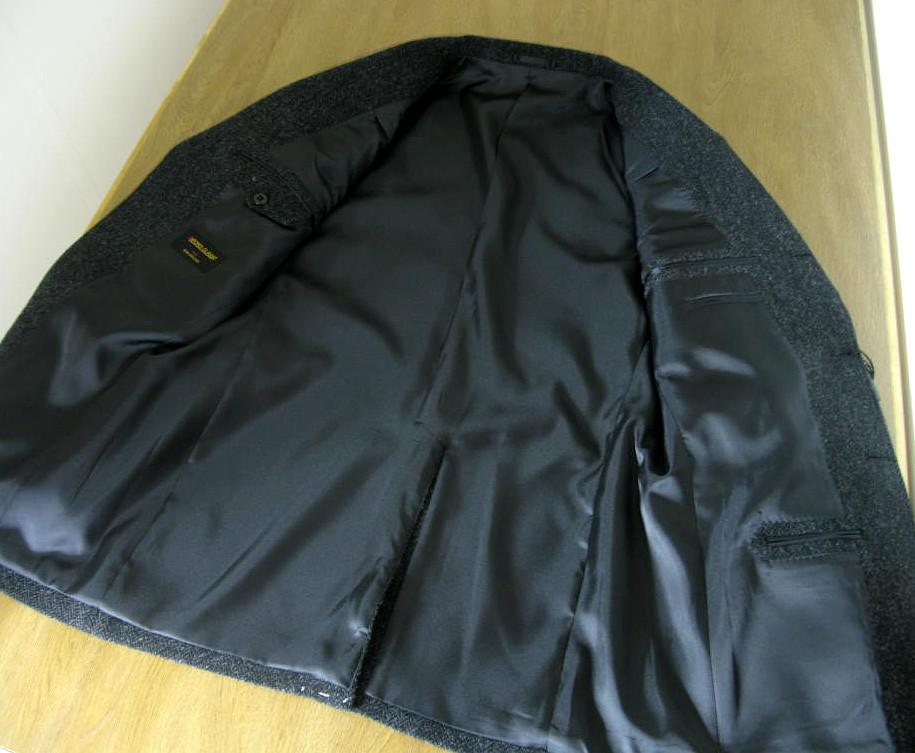 OXFORD CLASSIC 秋冬エアロツイードジャケット ブラック 2109  A8 AB7