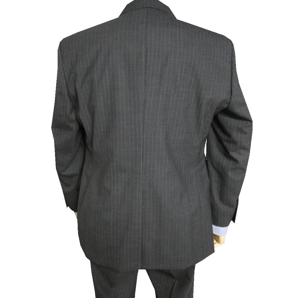 renoma PARIS(レノマパリス) スーツ メンズ 春夏 2つボタン ストライプ チャコールグレー 2818 A5 AB4 AB6 AB7 BB5 BB8