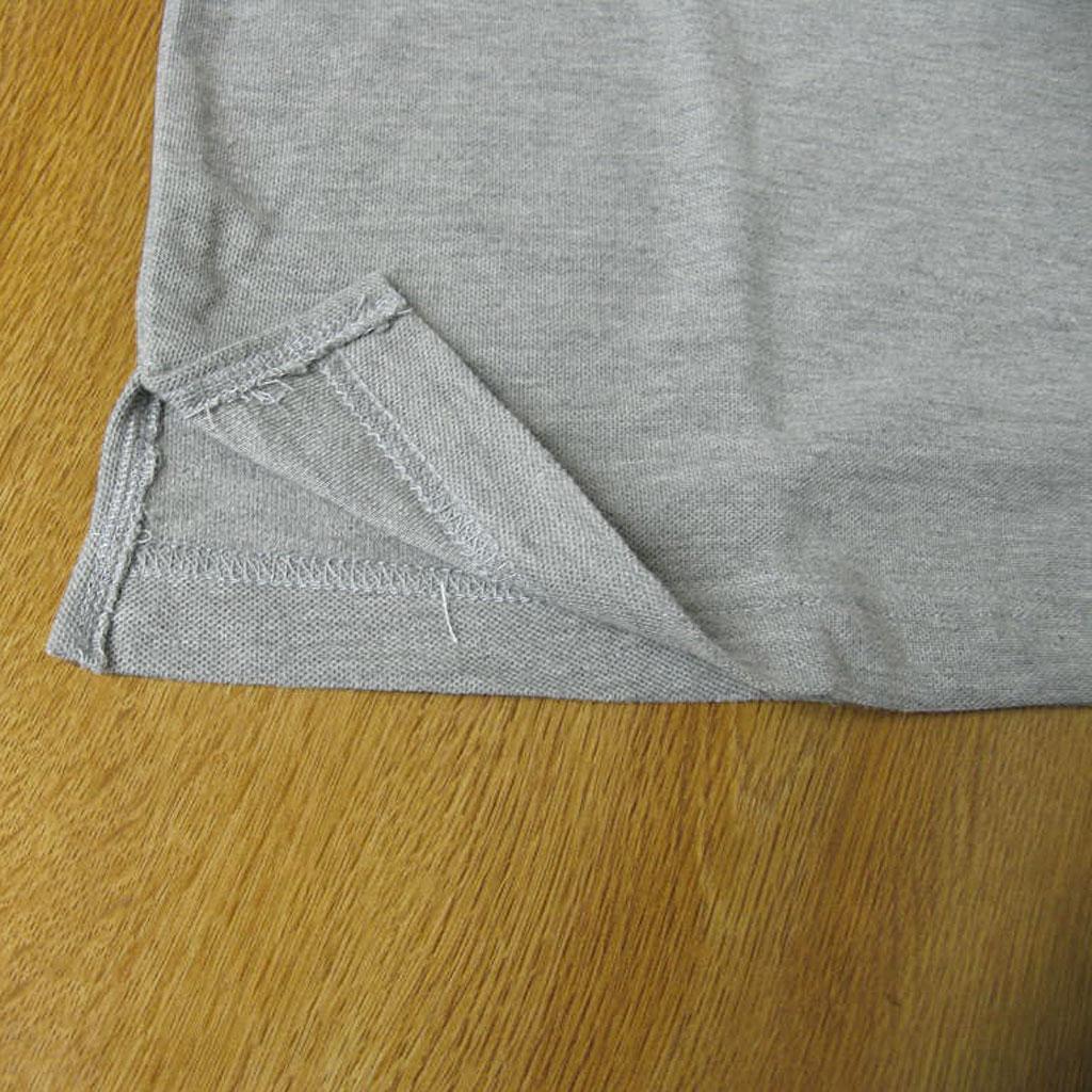 COWBELLMATE ポロシャツ メンズ 春夏 半袖 鹿の子織り モクグレー 6002 S M L LL 3L 4L