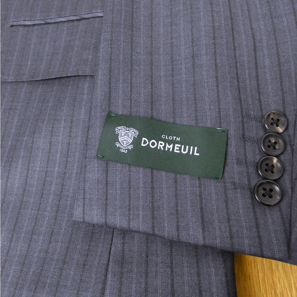 DORMEUIL(ドーメル)の春夏2つボタンスーツ ネイビーストライプ 0313 AB3 AB4 AB5 AB6