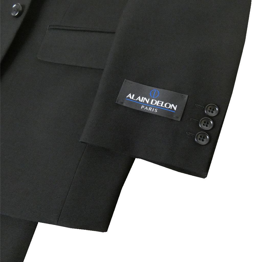 メンズ礼服 ALAINDELON(アランドロン)のシングル2ボタンフォーマルスーツ オールシーズン対応 0209