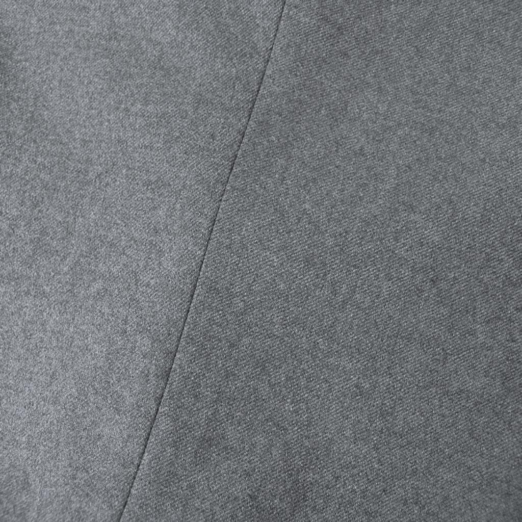 HAI-VASERON 秋冬春 フランネラーナパンツ ミディアムグレー ノータック 【ストレッチ】 0423  82cm 88cm 91cm 97cm