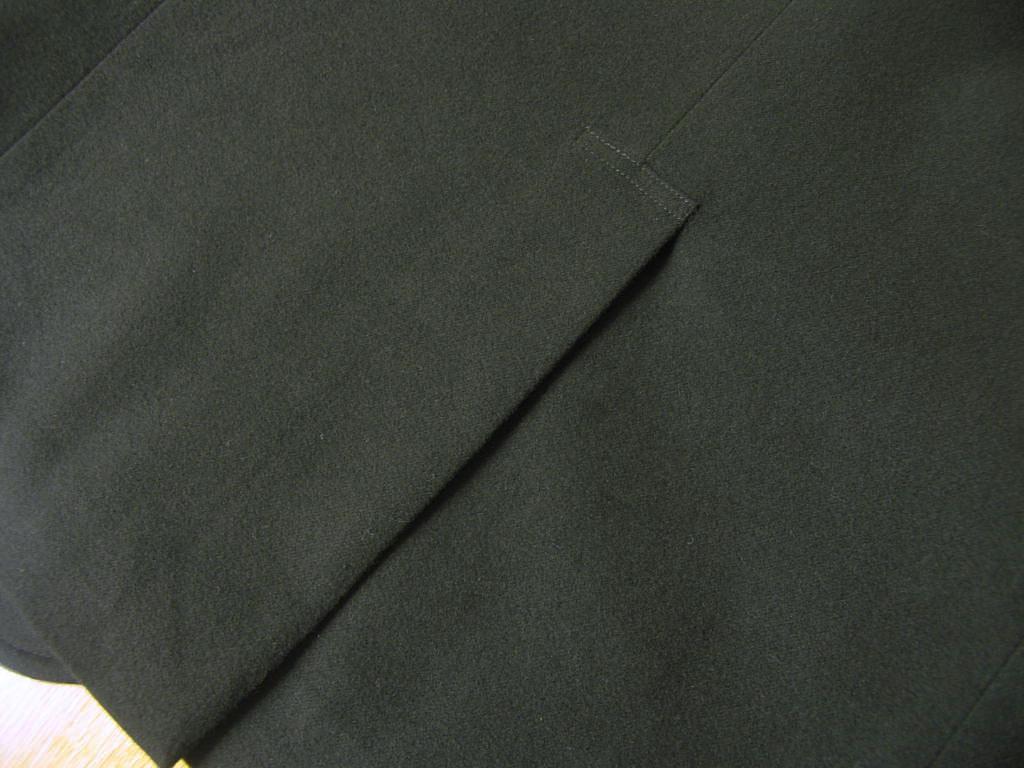 秋冬 コットンジャケット モールスキン ブラック 段返り3つボタン OXFORD CLASSIC PremiumLine 2809 A7 A8 BB6