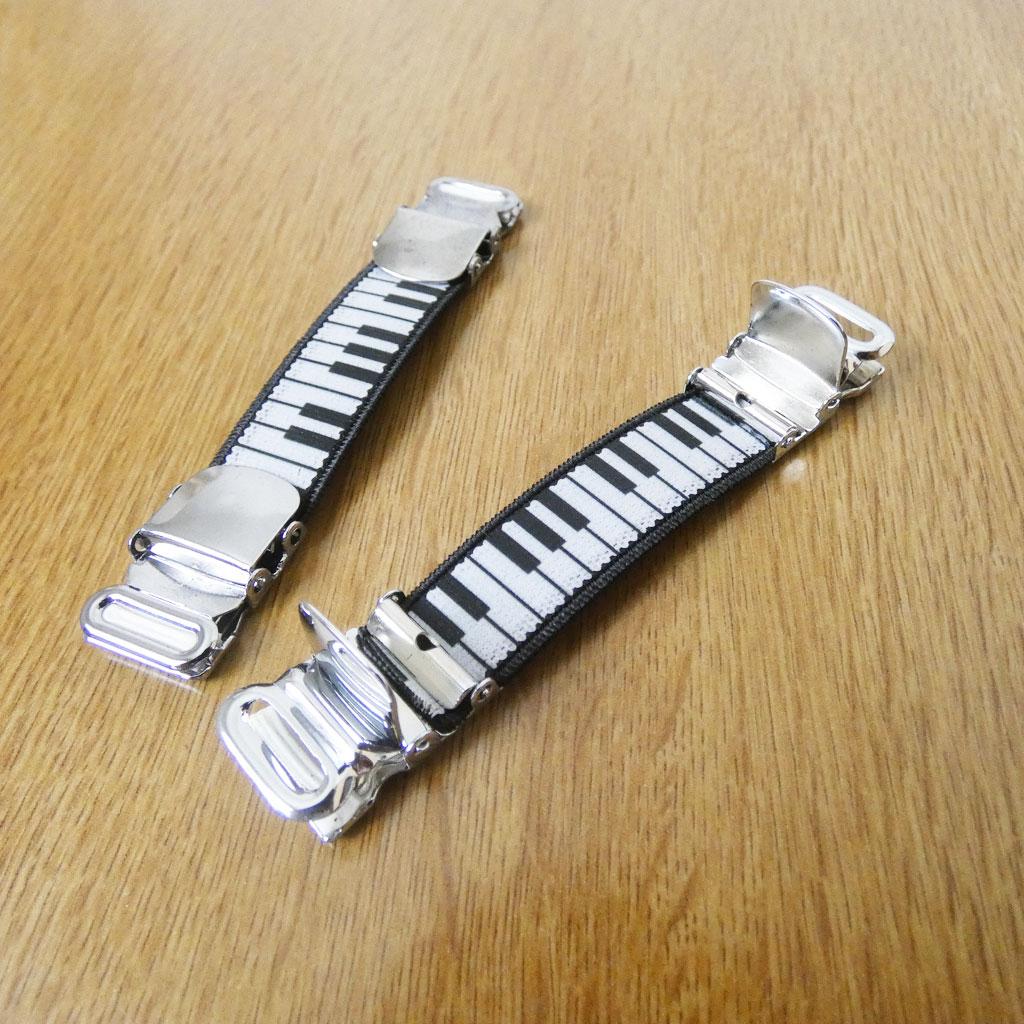アームガーター メンズ ピアノ A02
