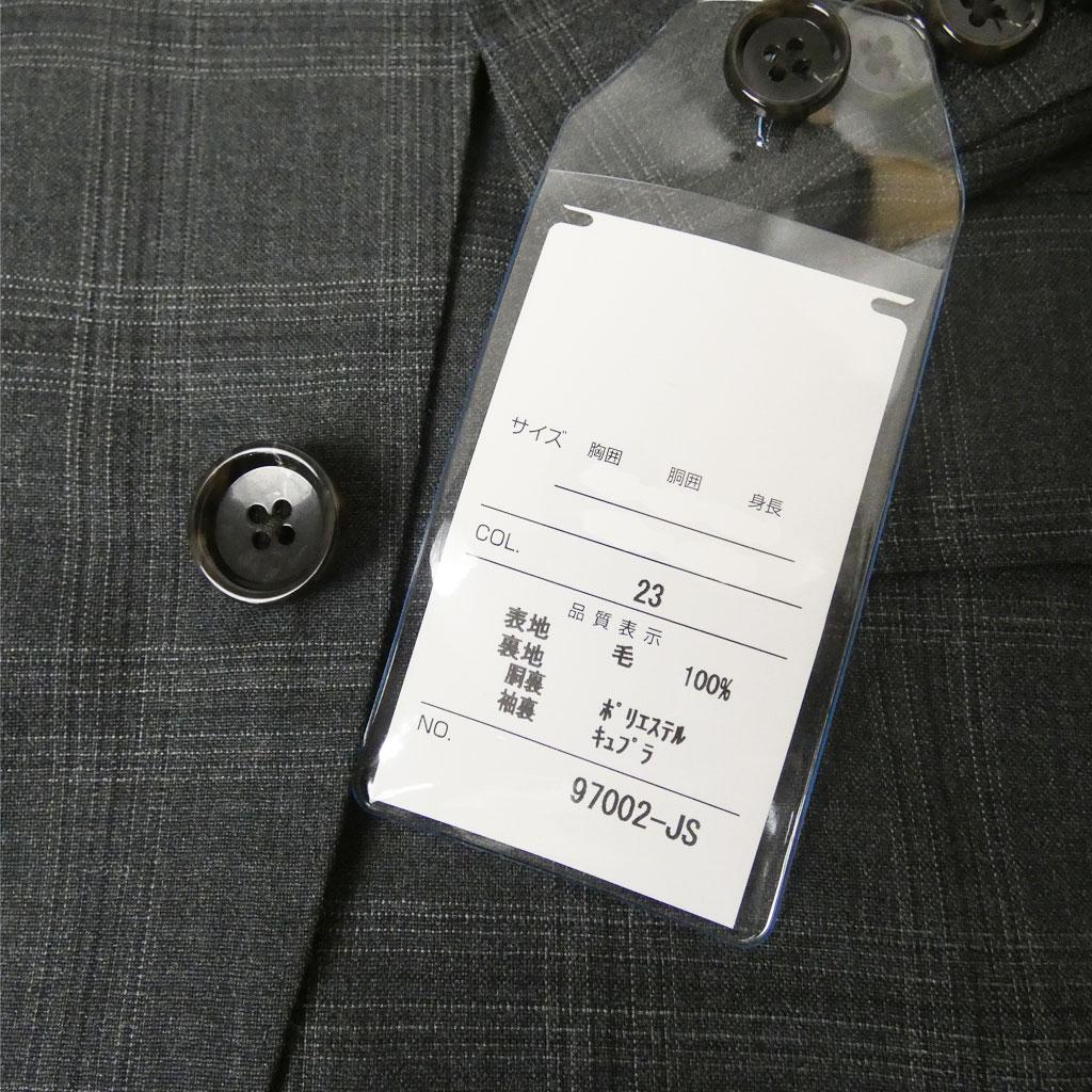 Ermenegildo Zegna(エルメネジルド ゼニア) スーツ メンズ 春夏秋 2つボタンスーツ チェック ミディアムグレー 0223 A4 A5 A6 A7 A8 AB4 AB5 AB6 AB7 AB8
