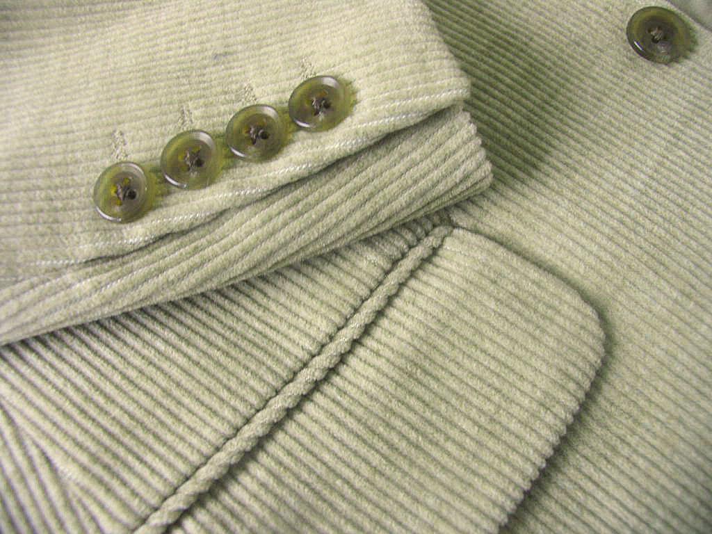 秋冬 コーデュロイ ジャケット ベージュ系 3つボタン 【綿混】【ウール混】 メンズ トラッド OXFORD CLASSIC 8352  A8 AB3