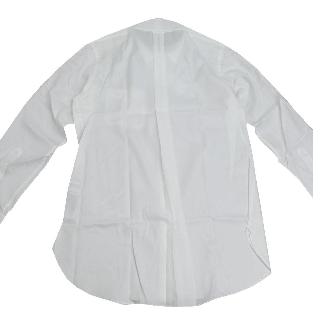 J.PRESS(ジェイプレス) ボタンダウンシャツ メンズ長袖ワイシャツ ピンオックス ホワイト (衿39-裄丈84cm)(衿41-裄丈85cm)