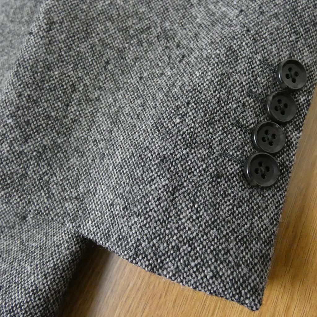 秋冬 スリーピース ホームスパン チャコールグレー 英国調 段返り3つボタン メンズ ビジネス OXFORD CLASSIC 0618 A3 A4 A5 A6 A7 A8 AB3 AB4 AB5 AB6 AB7 AB8 BB4 BB5 BB6 BB7 BB8