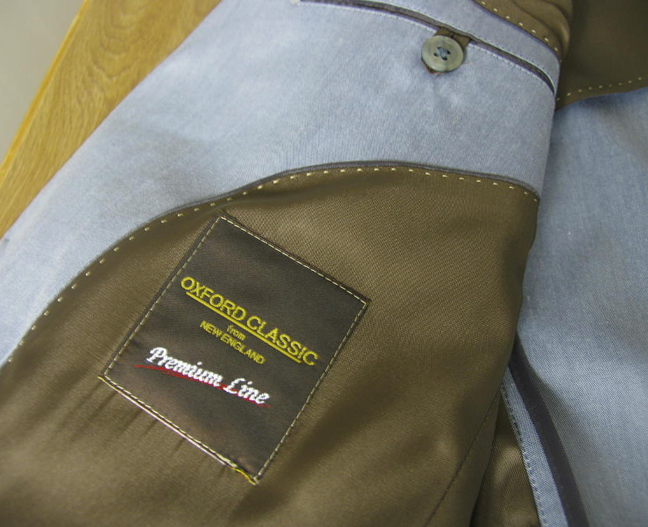 OXFORD CLASSIC PremiumLine 春夏コットンスーツ サックスブルー 0885 A6 A8