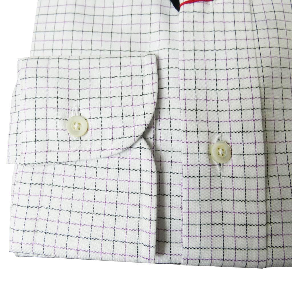 J.PRESS(ジェイプレス) ボタンダウンシャツ メンズ長袖シャツ ピンオックス カジュアルシャツ タッターソールチェック 265 (衿37cm-裄丈82cm)