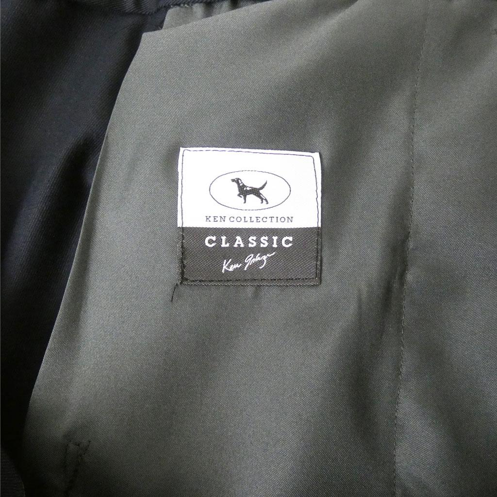 KEN COLLECTION CLASSIC(ケンコレクションクラシック) 春夏秋ノータック コットンパンツ ネイビー 0599 82cm 88cm