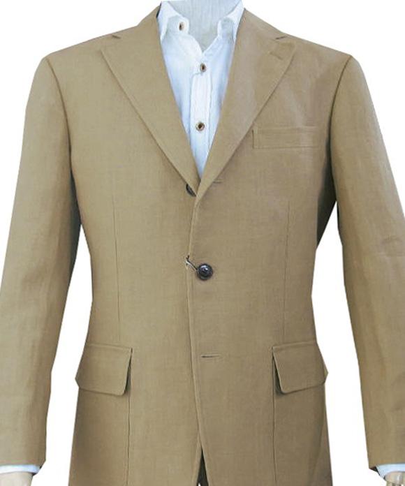 OXFORD CLASSIC PremiumLine(オックスフォードクラシックプレミアムライン) 麻100%ジャケット メンズ 春夏 ベージュ系 5652 A4 A6 A7 A8 AB7 BB8