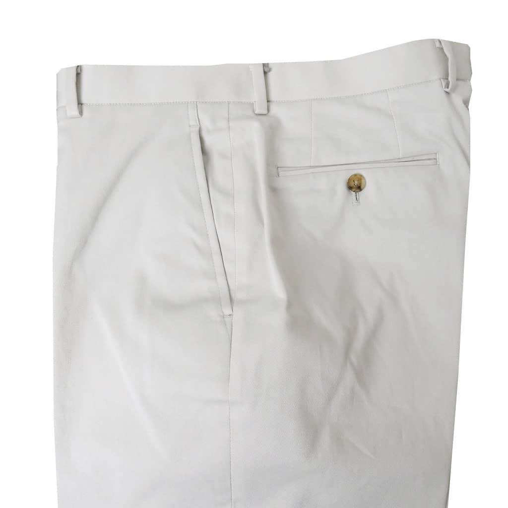 KEN COLLECTION CLASSIC(ケンコレクションクラシック) 春夏秋ノータック コットンパンツ オフホワイト 0505 85cm 91cm