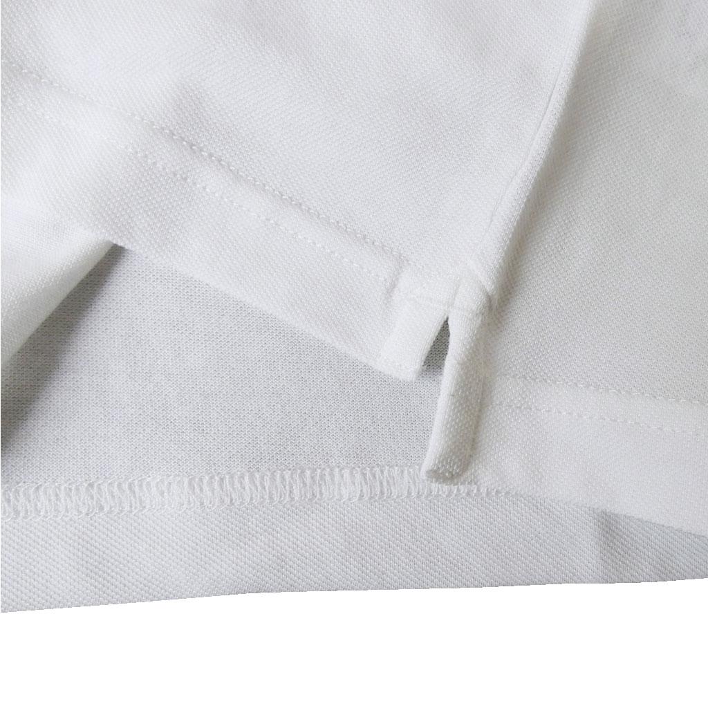 stanley blackerの半袖 ポロシャツ ホワイト 1202 M L 3L