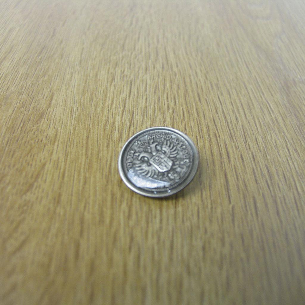 ブレザー・ジャケット用替え メタルボタン 小=直径1.3cm メール便のみ送料無料