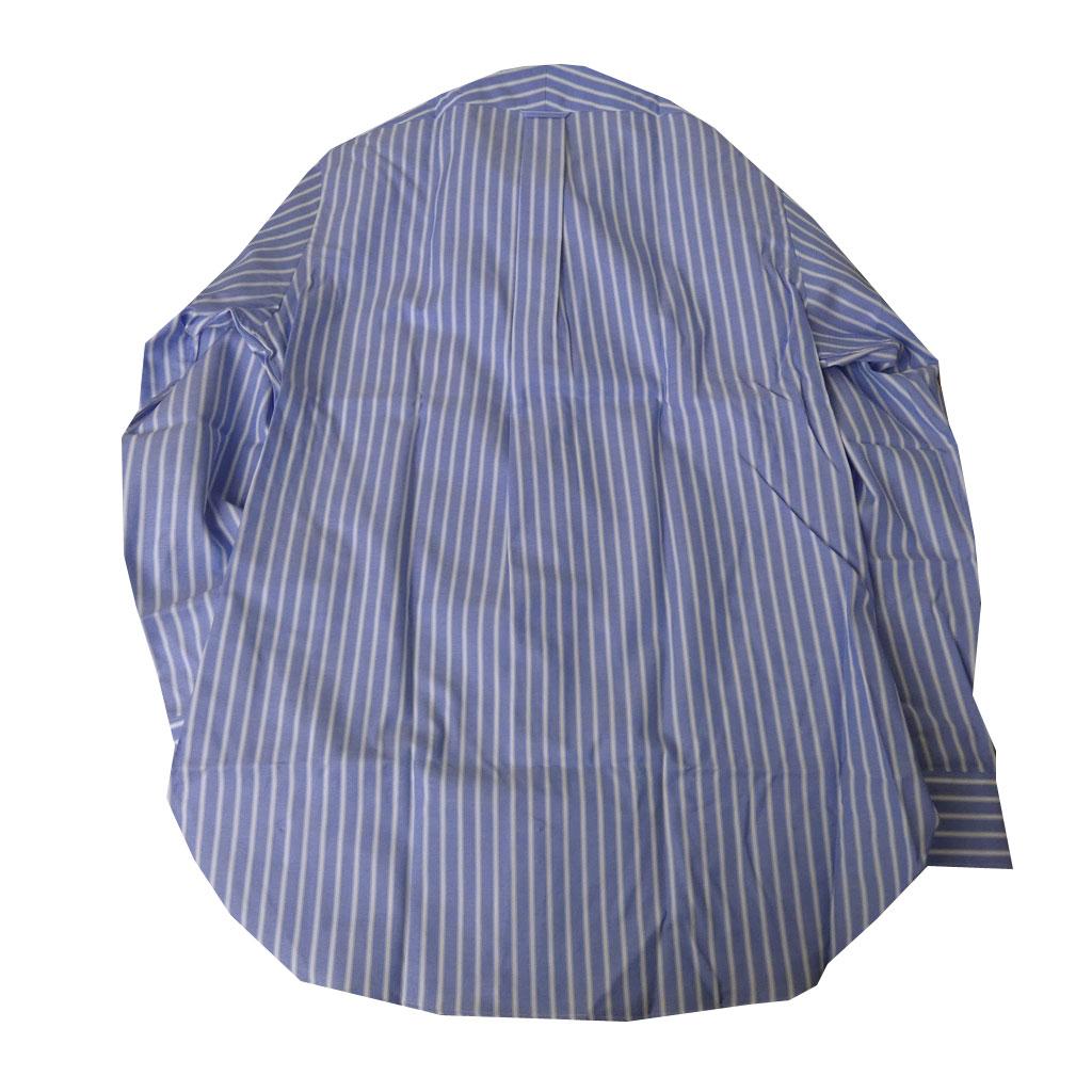 J.PRESS(ジェイプレス) ボタンダウンシャツ メンズ長袖シャツ ブルー ストライプ  4175  (衿39cm-裄丈84cm)(衿41cm-裄丈85cm)