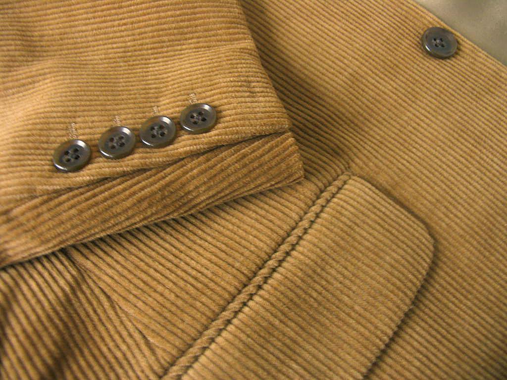 秋冬 コーデュロイ スーツ ブラウン系 3つボタン 【綿混】【ウール混】 メンズ トラッド OXFORD CLASSIC 8355  A8