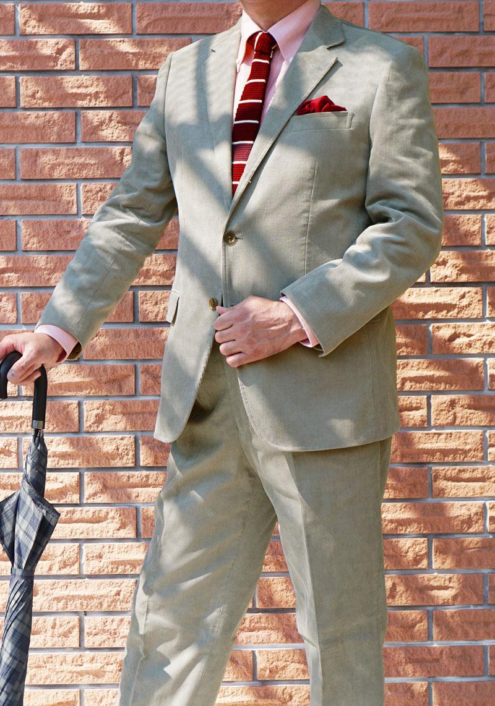 秋冬 コーデュロイ スーツ ミディアムグレー 段返り3つボタン【上下別売可】 メンズ トラッド OXFORD CLASSIC 0015 A5  AB6 AB7 AB8 BB4