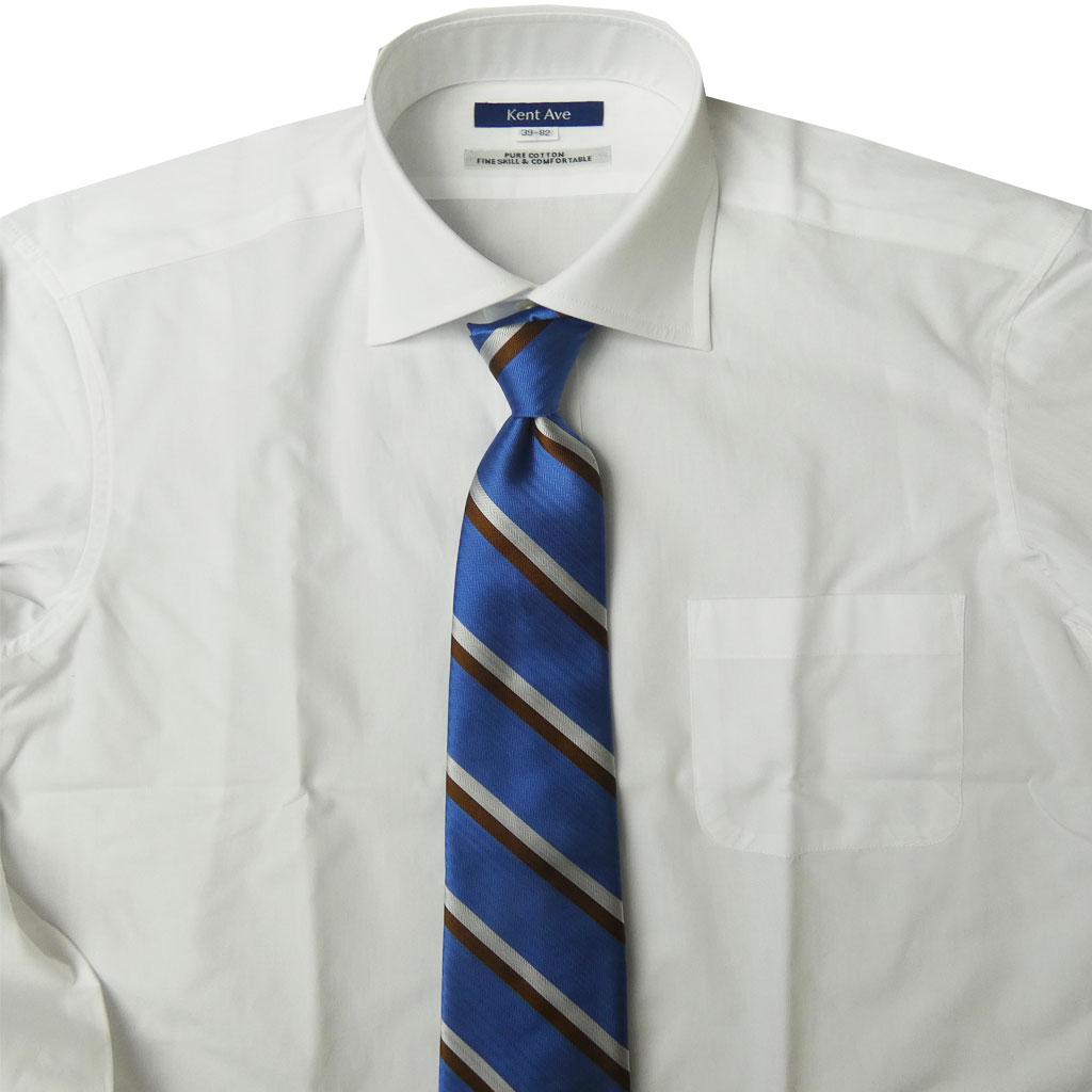 J.PRESS(ジェイプレス) ネクタイ 絹100% レジメンタル  ブルーヘリンボーン JSN1173