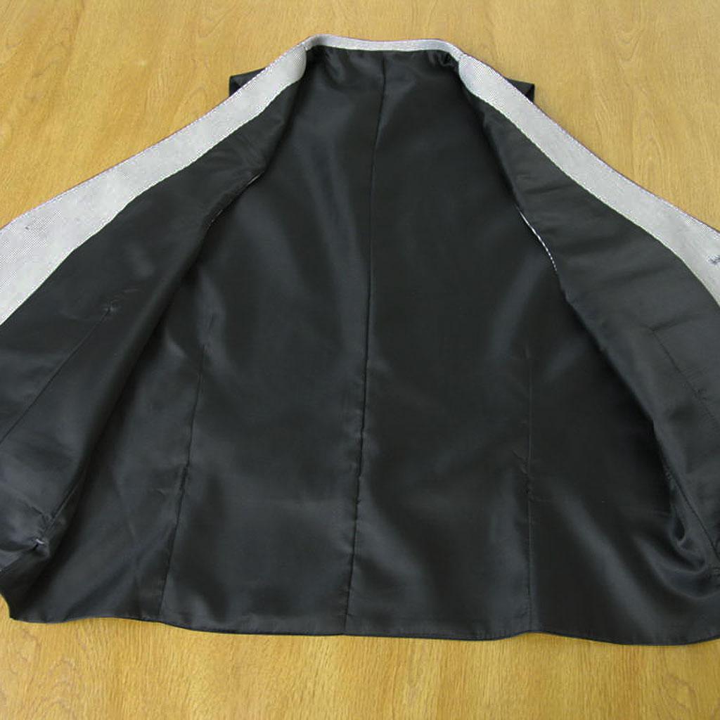 stanley blackerの春夏オッドベスト コードレーン サックスブルー 6385  A4 A5 A6 A7 A8 AB4 AB5 AB6 AB7 BB5