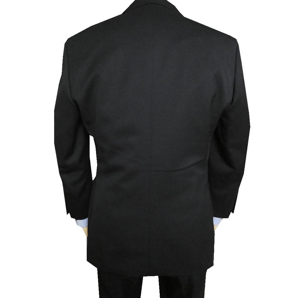 Theo Dore 秋冬春物 ブラックスーツ 段返り3つボタン スリーピース 黒無地 チェンジポケット付き 2809 A3 A5 A6 A7 A8 AB3 AB4 AB5 AB8