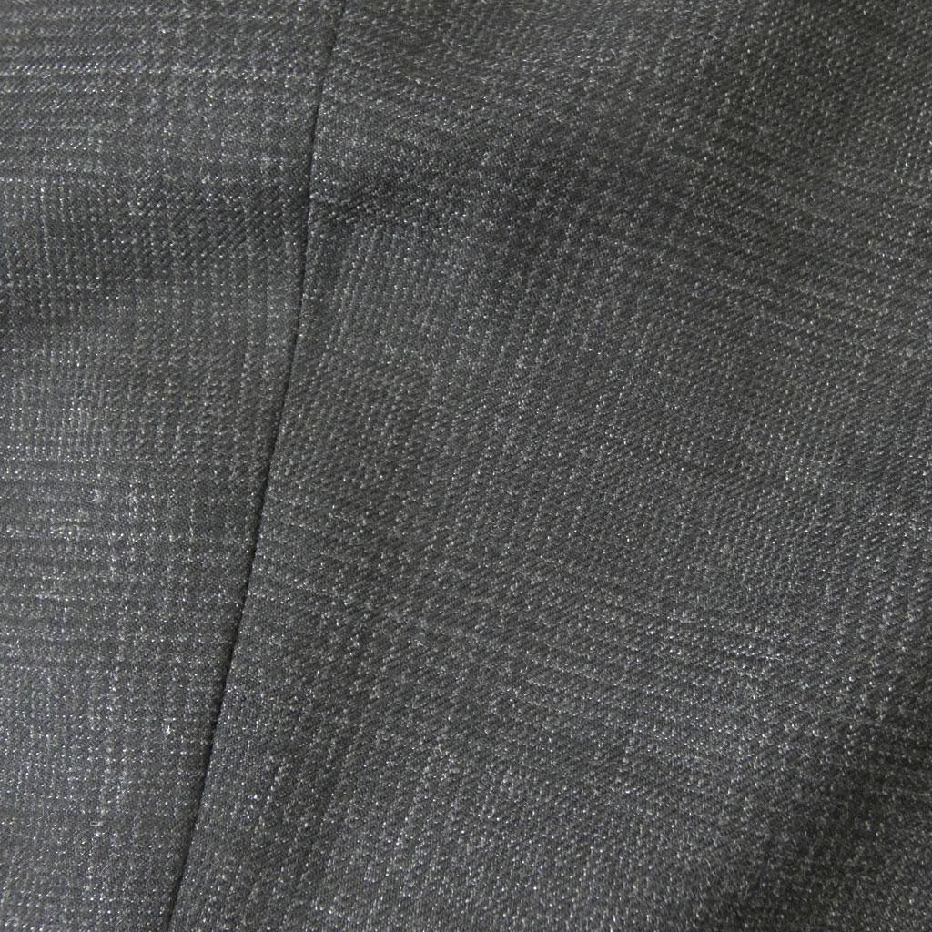 J.PRESS(ジェイプレス) メンズ 秋冬春 ノータック パンツ サキソニーチャコールグレー グレンチェック  2404 79cm 82cm 85cm 88cm 91cm 94cm