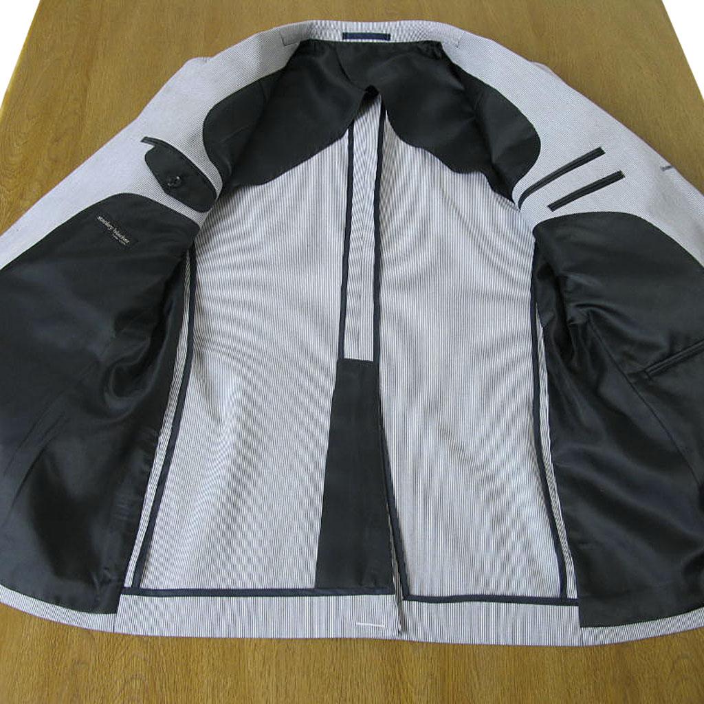 stanley blacker(スタンリーブラッカー) ジャケット メンズ 春夏 コードレーン サックスブルー 6385 A4 A6 A7 A8 AB6 AB7