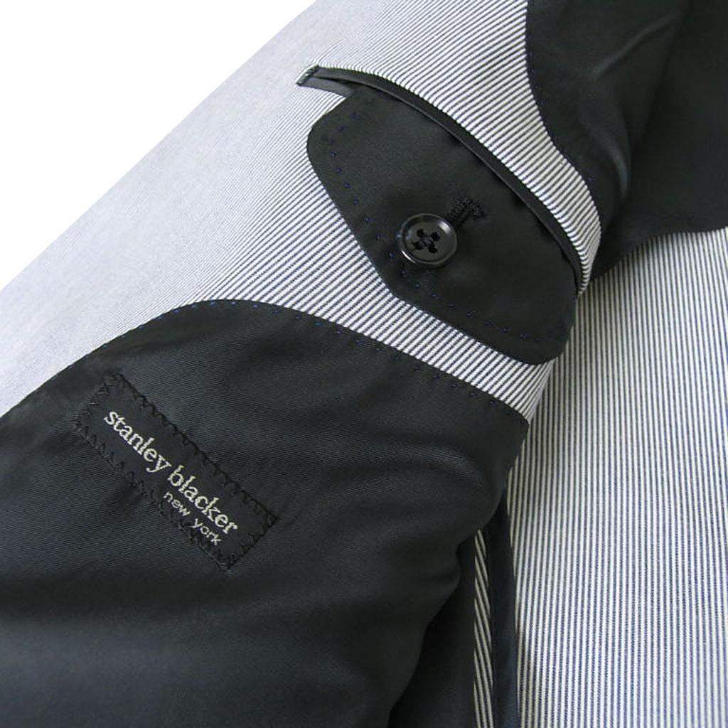stanley blacker(スタンリーブラッカー) ジャケット メンズ 春夏 コードレーン サックスブルー 6385 A4 A5 A6 A7 A8 AB6 AB7