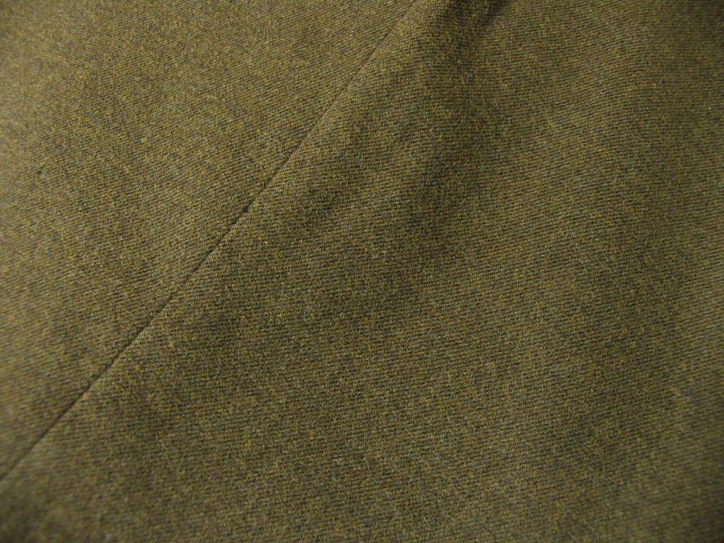 秋冬 コットンパンツ モールスキン カーキ系ブラウン ノータック OXFORD CLASSIC PremiumLine 2878  76cm 78cm 82cm 88cm 94cm