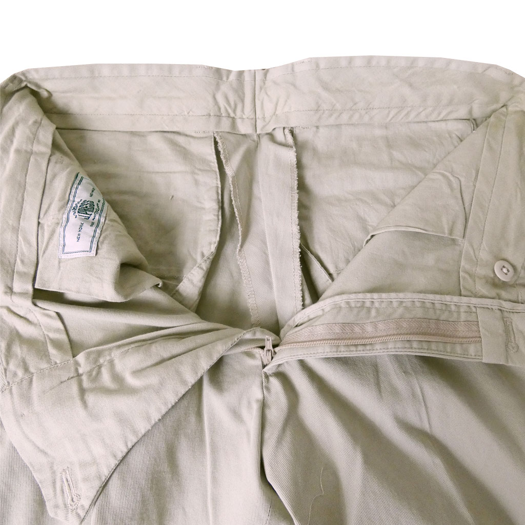 J.PRESS(ジェイプレス) コットンパンツ メンズ 春夏秋 ノータック スラックス ベージュ系 1033  82cm 86cm 90cm