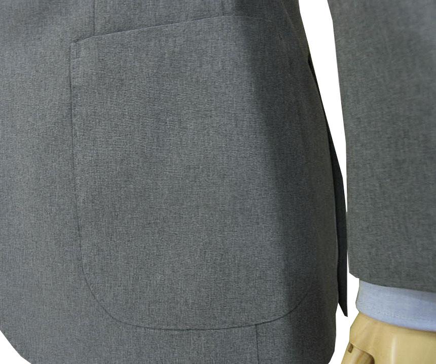 春夏秋 スーツ ミディアムグレー 2つボタン 【防シワ加工】【ウォッシャブル】【ストレッチ】【超軽量】 メンズ ビジネス THEO DORE 2215  A4 A5 AB8