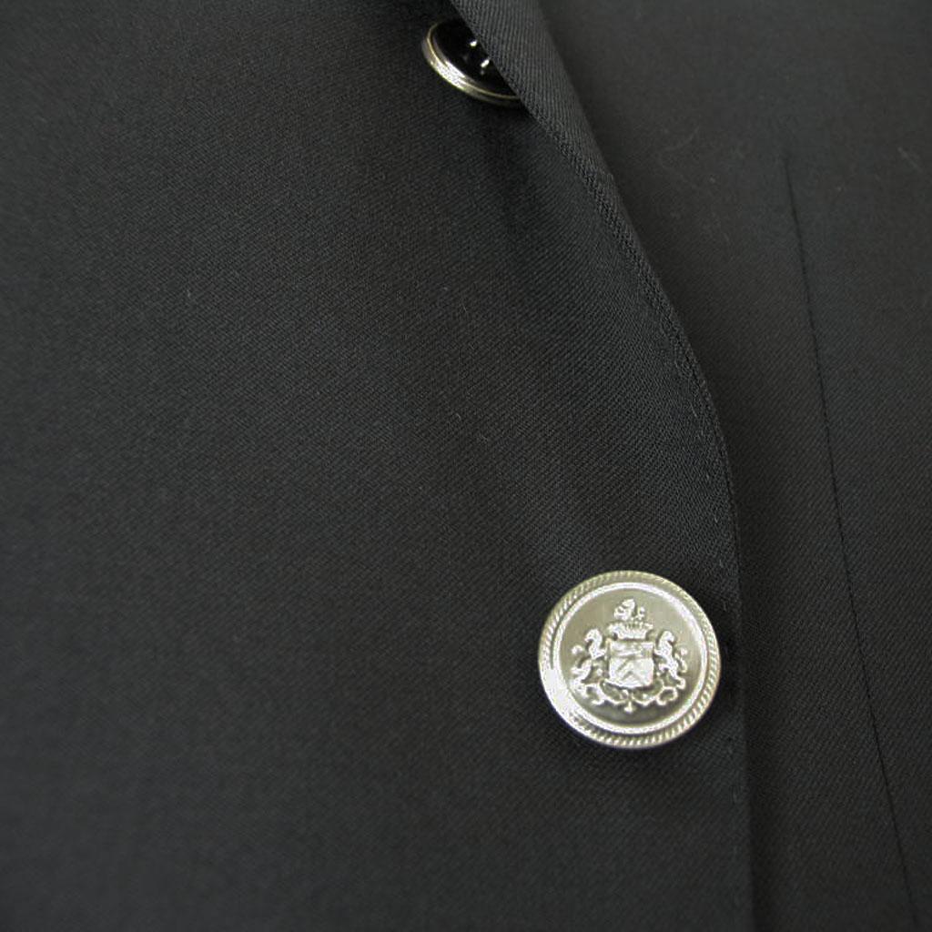 OXFORD CLASSIC(オックスフォードクラシック) 黒ブレザー メンズ 春夏秋 英国調 黒無地 メタルボタン ブラック 0309 A6 A7 A8 AB4 BB3 BB4 BB7 BB8