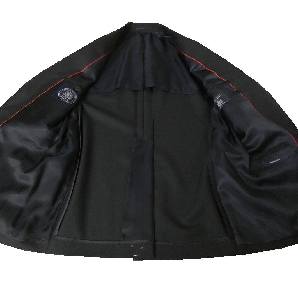 Jプレス スーツ メンズ 春夏 新1型トラッド 段返り3つボタン NEW AUTHENTIC MODEL 濃紺無地 A4 AB4 AB5 B4