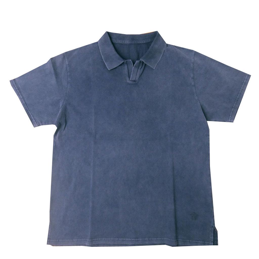 J.PRESS(ジェイプレス) ハイツイスト ジャージスキッパー ポロシャツ ネイビー 1075  M L XL