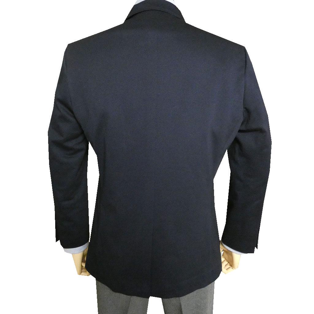 HAI-VASERON(ハイバセロン) ニットジャケット メンズ 春夏 2つボタン ネイビー 0113 ABS  ABM  ABL  ABLL AB3L  BBS BBM BBL BBLL