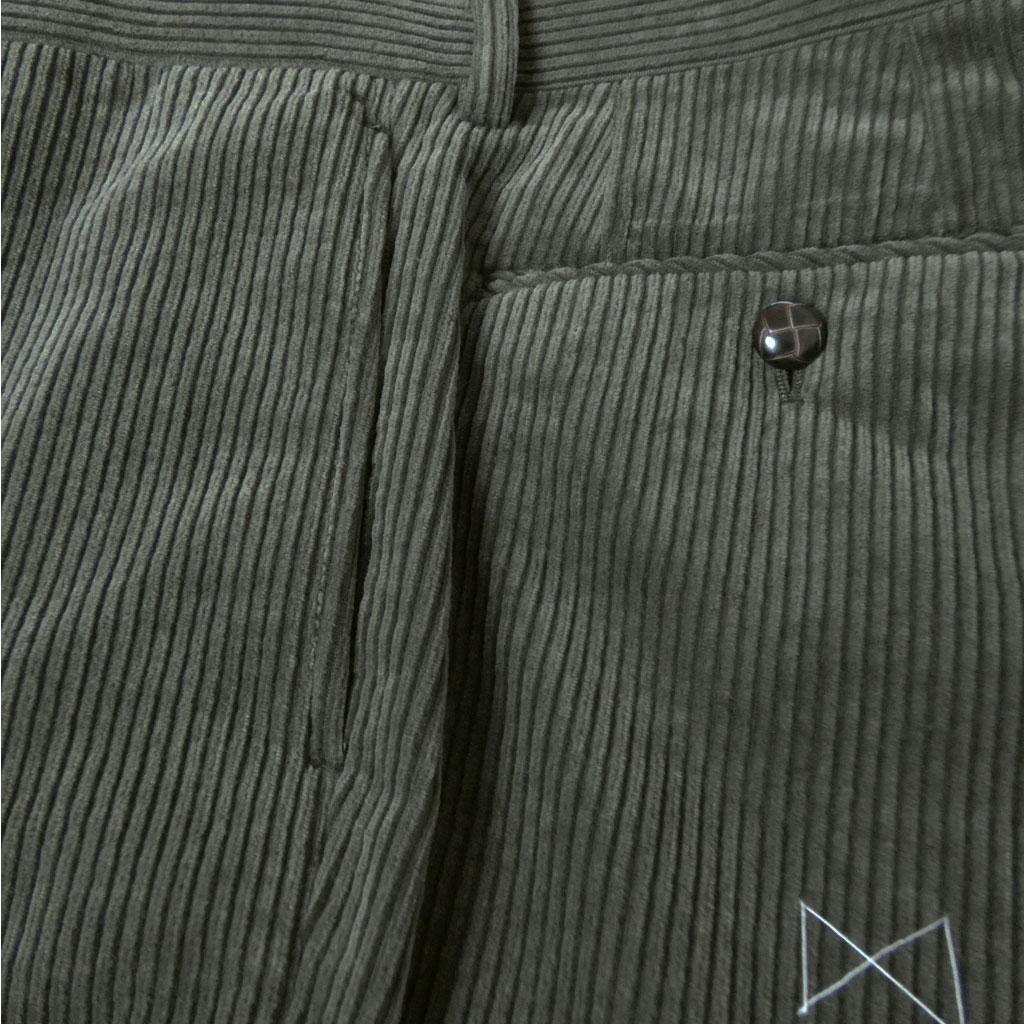 OXFORD CLASSIC PremiumLine(オックスフォードクラシックプレミアムライン) コーデュロイパンツ メンズ 秋冬 スラックス ノータックパンツ カーキ系 0578 80cm 82cm 84cm 86cm 88cm 100cm